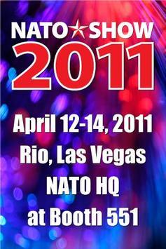 The NATO Show 2011 poster