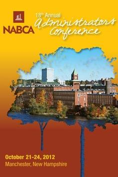 NABCA Admin Conference 2012 poster