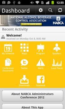 NABCA Admin Conference 2012 apk screenshot
