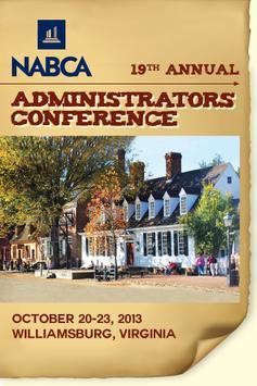 NABCA Administrators Conf. poster