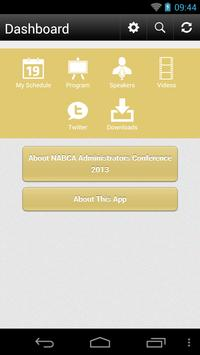 NABCA Administrators Conf. apk screenshot