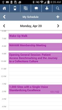 NAHAM 2015 Annual Conference apk screenshot