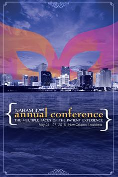 NAHAM 2016 Annual Conference poster