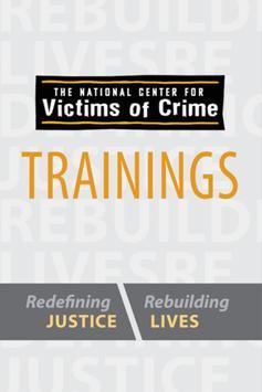 NCVC Trainings poster