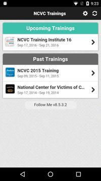 NCVC Trainings apk screenshot