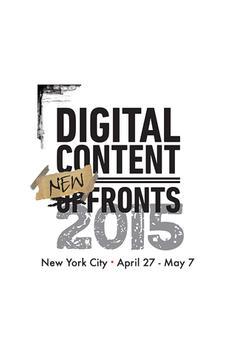 Digital Content NewFronts 2015 poster