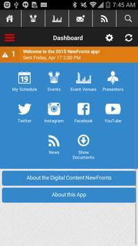 Digital Content NewFronts 2015 apk screenshot