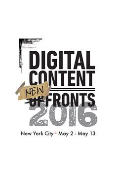 Digital Content NewFronts 2016 poster