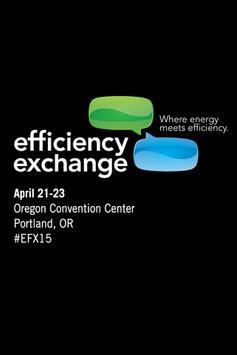 Efficiency Exchange 2015 poster