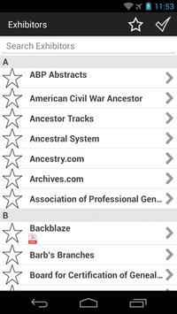 NGS 2014 Family History Con apk screenshot