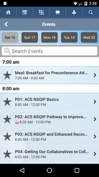 ACS NSQIP National Conference apk screenshot