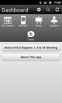 NTCA Regions 7, 8 & 10 Meeting poster
