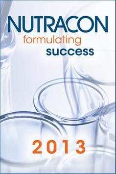 Nutracon 2013 poster