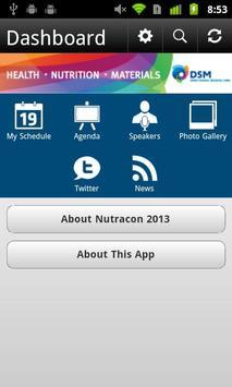 Nutracon 2013 apk screenshot