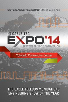 SCTE Cable-Tec Expo 2014 poster