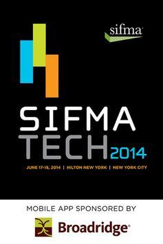 SIFMA Tech 2014 poster