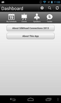 SilkRoad Connections 2013 apk screenshot