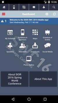 SIOR SWC 2016 apk screenshot