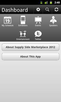 SupplySide MarketPlace 2012 poster