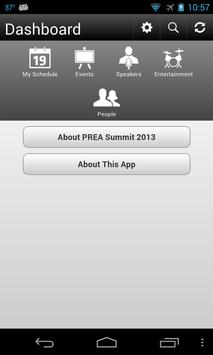 PREA Summit 2013 apk screenshot