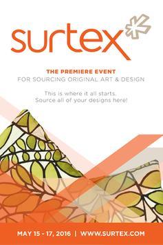 SURTEX 2016 poster