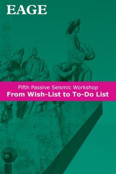 EAGE Passive Seismic Workshop poster