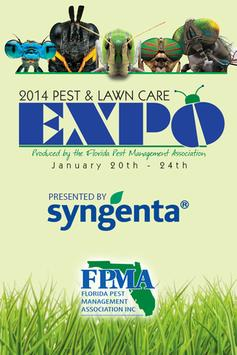 2014 Pest & Lawn Care Expo poster