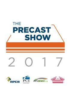 The Precast Show 2017 poster