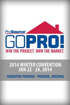 ProSource 2014 Winter poster