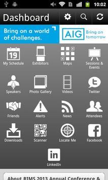RIMS 2013 Annual Conference apk screenshot