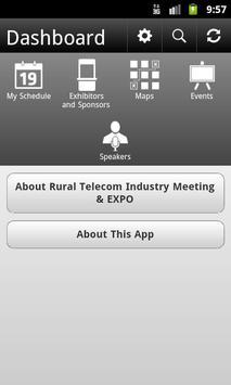 Rural Telecom Industry Meeting poster