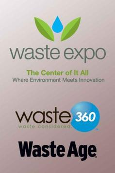 Waste Expo 2013 poster