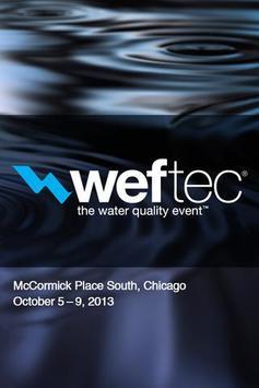 WEFTEC 2013 poster
