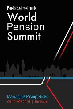 World Pension Summit 2016 poster