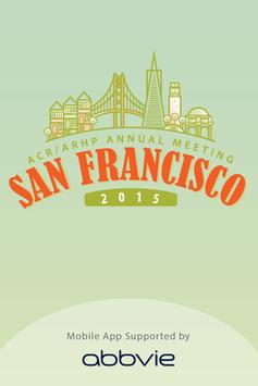2015 ACR/ARHP Annual Meeting poster