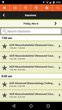 2015 ACR/ARHP Annual Meeting apk screenshot