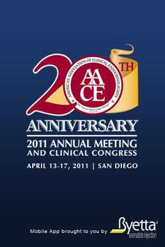 AACE Annual Meeting poster