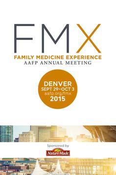 2015 AAFP FMX poster