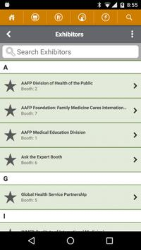 AAFP Global Health Workshop apk screenshot