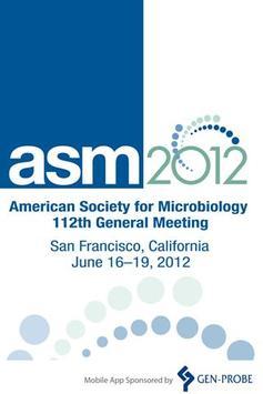 ASM 112th General Meeting poster