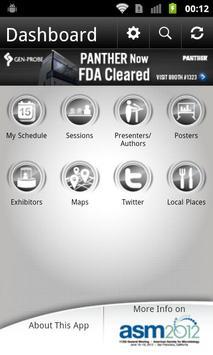 ASM 112th General Meeting apk screenshot