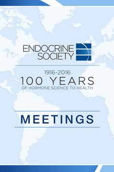 Endocrine Society Meetings poster