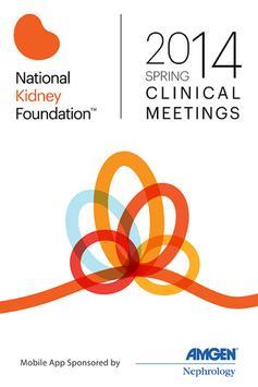 National Kidney Foundation '14 poster