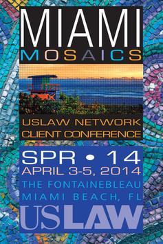 USLAW Spring 2014 Conference poster