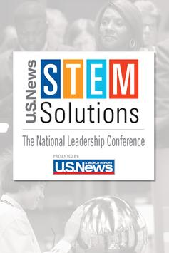 U.S. News STEM Solutions poster