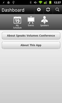 Speaks Volumes Conference apk screenshot