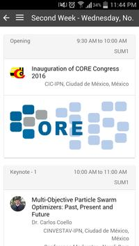 CORE Congress Official apk screenshot