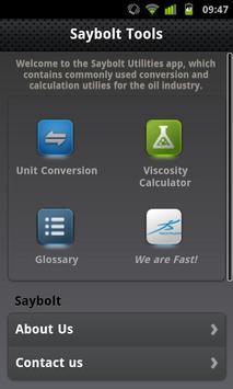 Saybolt Tools poster