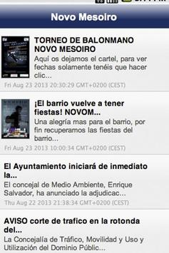 Blog de Novo Mesoiro apk screenshot