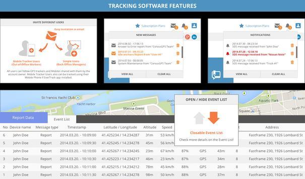 Fleet GPS Tracker - EverTrack apk screenshot